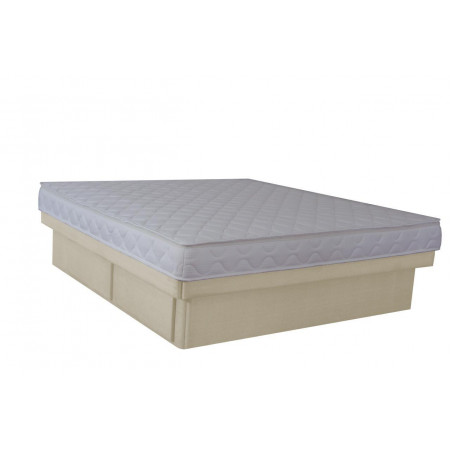 Olympia Deluxe Softside Waterbed Ivory Suedette