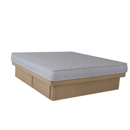 Olympia Deluxe Softside Waterbed Woven Oyster