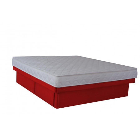 Olympia Deluxe Softside Waterbed Woven Red
