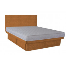 Olympia Deluxe Softside Waterbed Hidestyle Tan