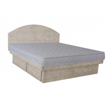 Olympia Deluxe Softside Waterbed Hidestyle Marble