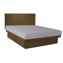 Olympia Deluxe Softside Waterbed Chocolate Suedette