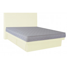 Hardside Waterbed - Hidestyle White