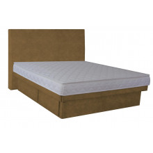 Hardside Waterbed - Hidestyle Mocha