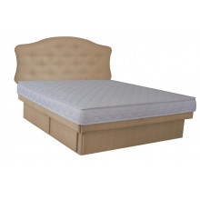 Hardside Waterbed - Woven Oyster