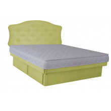 Hardside Waterbed - Woven Olive